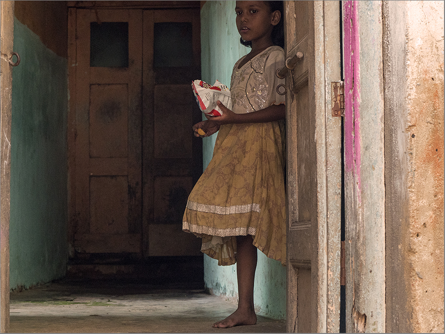 Little Girl in Varanasi